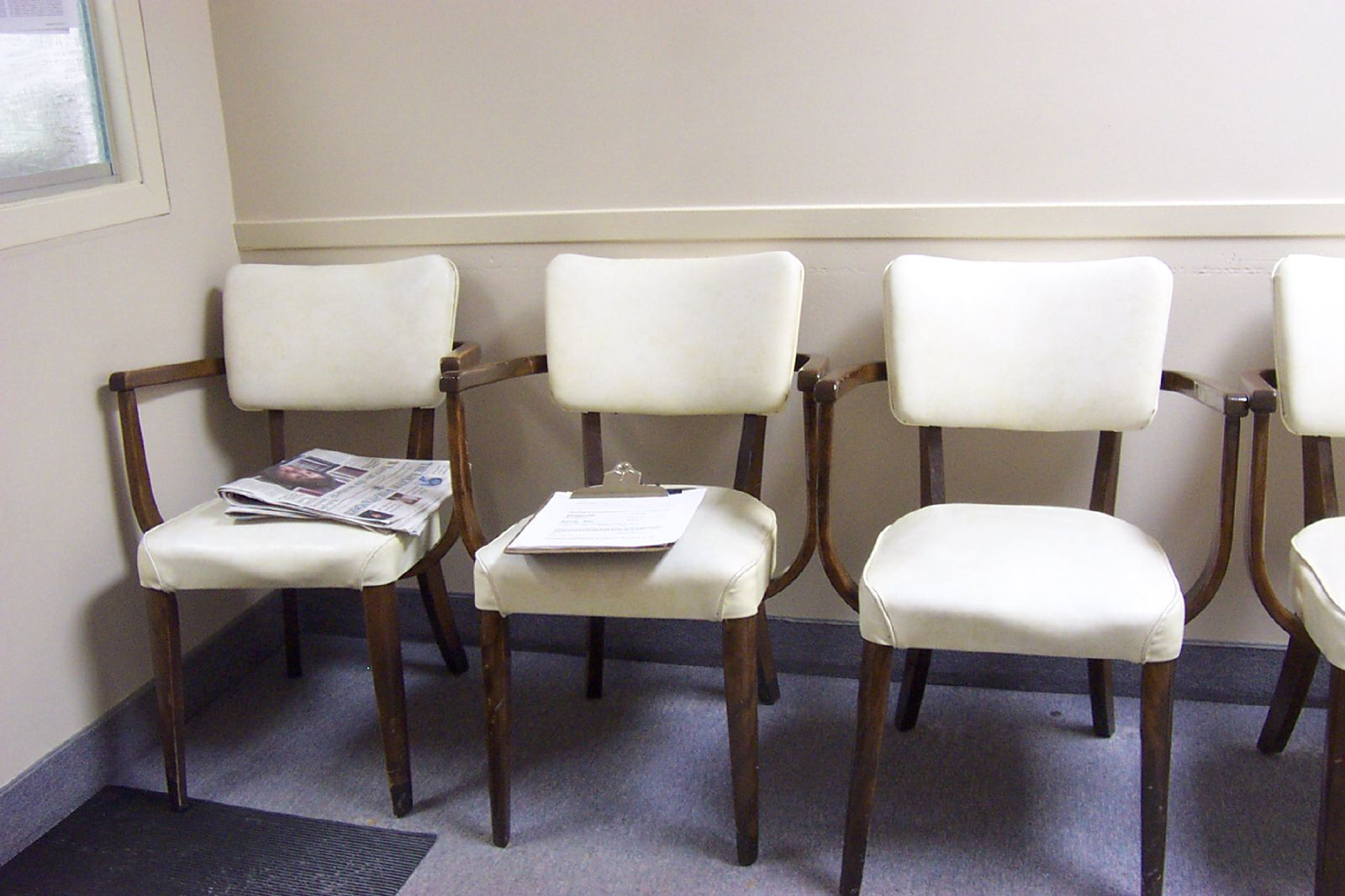 Waiting Rooms I Have Known